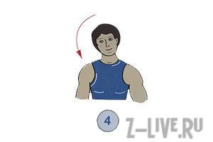 Упражнения от болей в шее.
