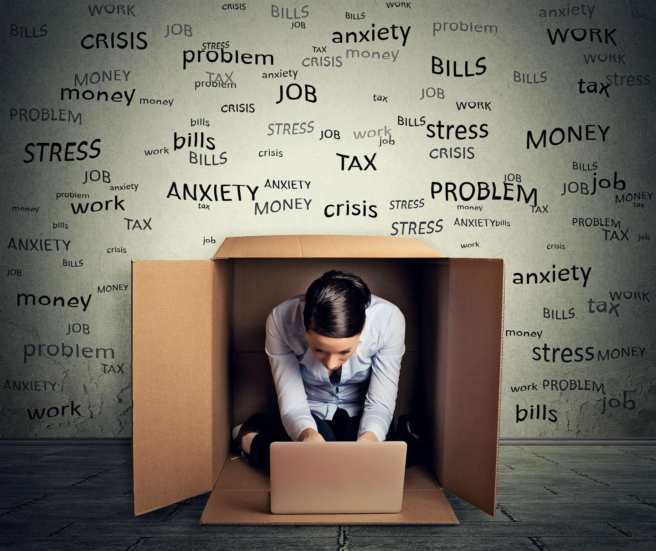 Прятаться от стресса